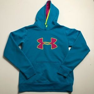 Under Armour Semi Fitted Pullover Hoodie Small